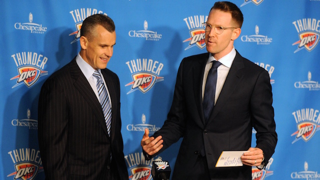sam presti billy donovan